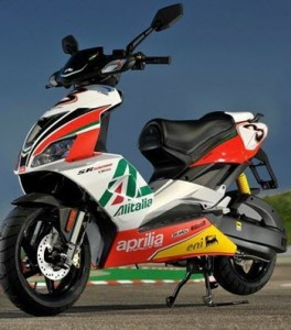 Aprilia-scooter-leasen